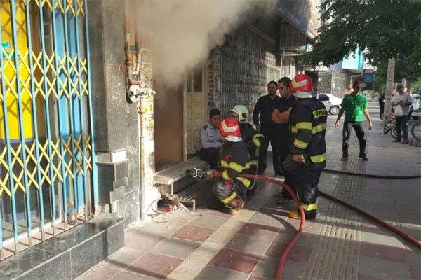 آتش در سفره خانه سنتی ورامین/نیمی از این مکان شعله ور شد