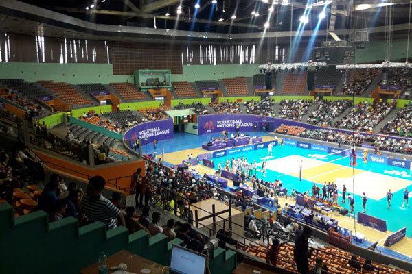 VIDEO: Iran vs Bulgaria at FIVB Volleyball Nations League