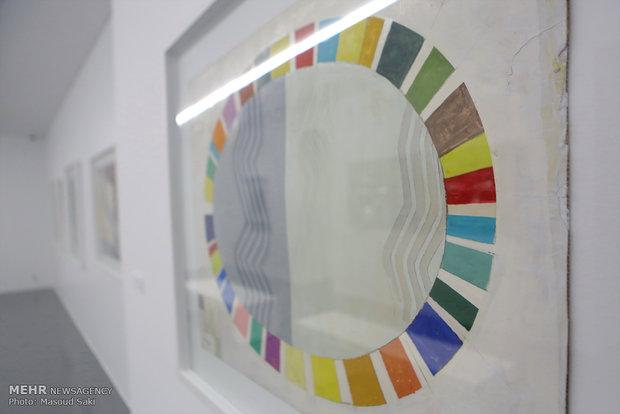 Geometric reliefs expo held in Tehran