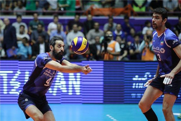 ايران تفوز على بلغاريا في دوري الامم لكرة الطائرة