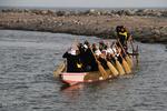 تمرین قایق رانی دراگون بوت در بندرعباس