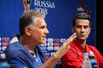 نشست خبری کارلوس کی روش سرمربی تیم ملی فوتبال