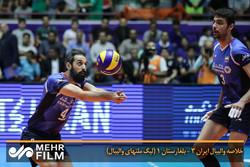 فلم/ ایران کی والیبال ٹیم نے بلغاریہ کی ٹیم کو 1-3 سے ہرا دیا