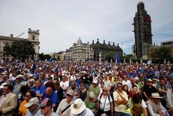 برطانیہ میں بریگزٹ کے خلاف مظاہرہ