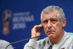نشست خبری فرناندو سانتوز سرمربی تیم ملی فوتبال پرتغال
