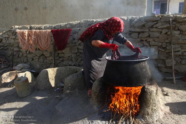السجاد اليدوي الايراني