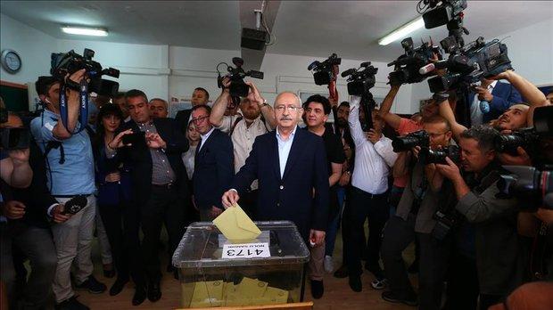 Chairman of Republican People's Party (CHP) Kemal Kilicdaroglu