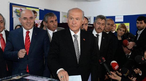 MHP leader and Erdoğan's electoral ally, Devlet Bahçeli