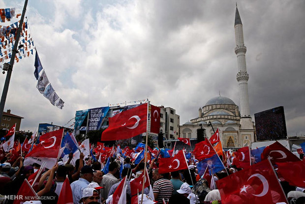 برگزاری انتخابات ریاست جمهوری ترکیه