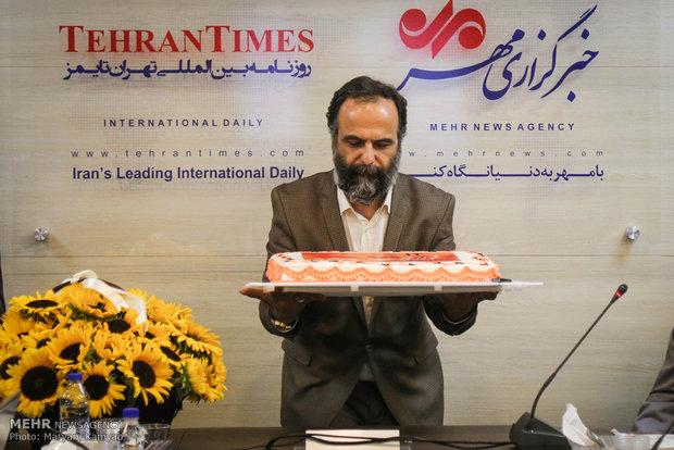 Celebrating 14th birthday anniversary of Mehr News Agency