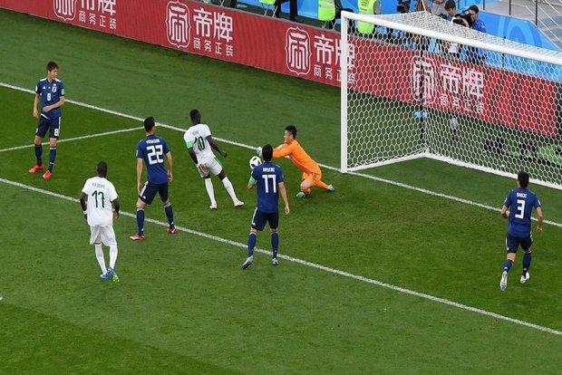 تساوی ژاپن و سنگال در نیمه نخست