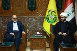 السفير الايراني ببغداد التقى أمين حركة النجباء