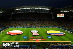فلم/ کولمبیا نے پولینڈ کو صفر کے مقابلے میں 3 گولوں سے ہرادیا