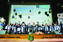 Caps in the air: Shahid Beheshti students celebrate graduation