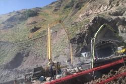 تکمیل فاز اول آزادراه تهران-شمال در سال۹۸/سیل پروژههای عمرانی رامتوقف نکرد