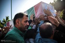 "مراسم تشييع جثمان الشهيد ""شاهرخ دائي بور"" / صور"