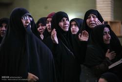 پیکر مادر شهیدان توفیقیان در مهدیشهر تشییع شد