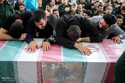 وداع با شهید دایی پور در دانشگاه افسری امام حسین(ع)