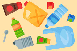 اینفومهر زبالههای پلاستیکی
