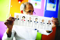 Turkey  presidential and parliamentary elections