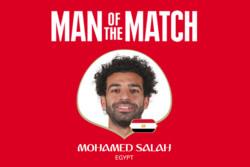 محمد صلاح بهترین بازیکن دیدار مصر و عربستان شد