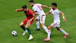 دیدار تیم های ملی ایران و پرتغال - کریس رونالدو