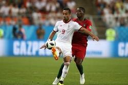 دیدار تیم های ملی ایران و پرتغال - امید ابراهیمی