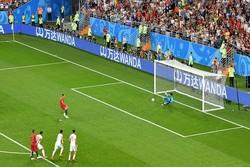 دیدار تیم های ملی ایران و پرتغال - پنالتی