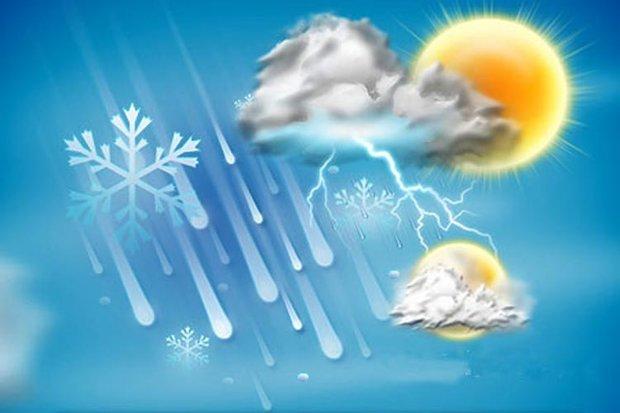 پیشبینی آسمان نیمه ابری برای خوزستان