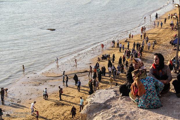 صيف الخليج الفارسي في جنوب ايران
