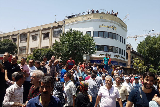 اعتصاب بازار تهران