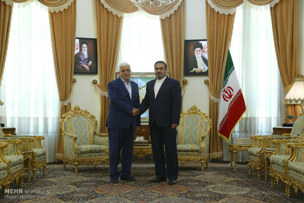 SNSC secretary meets with Iraqi counterpart Mon.