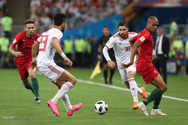 VIDEO: Iran 1-1 Portugal at World Cup 2018