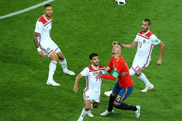 مراکش ۲ اسپانیا ۲/ ایران با یک اختلاف امتیاز صعود نکرد