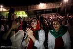 تماشای دیدار ایران و پرتغال در ورزشگاه آزادی
