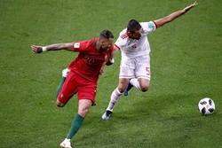 دیدار تیم های ملی ایران و پرتغال - میلاد محمدی