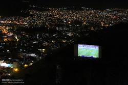 تماشای دیدار تیم ملی فوتبال ایران و پرتغال در سراسر کشور