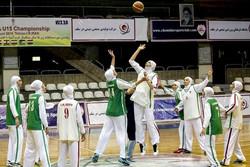 پیروی تیم زیر ١٨ سال بسکتبال بانوان ایران مقابل گوام