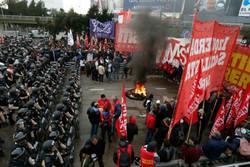 اعتصاب سراسری پایتخت آرژانتین را به تعطیلی کشاند