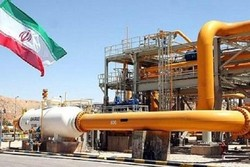 Iran's gas export rises by 9% in Q1: official