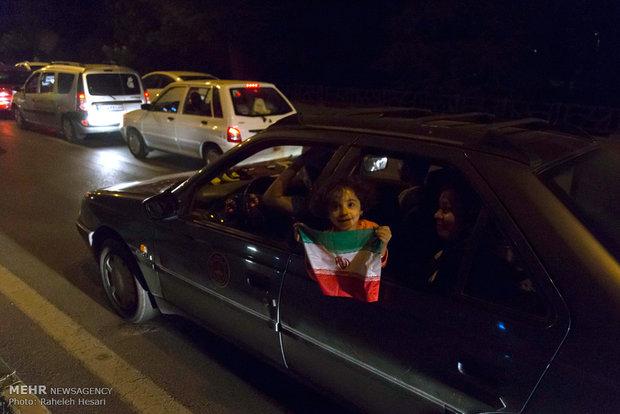 حاشیه های تماشای دیدار تیم ملی فوتبال ایران و پرتغال در سراسر کشور