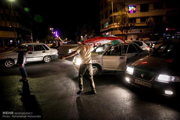 Iran-Portugal draw brings crowds to Tehran streets