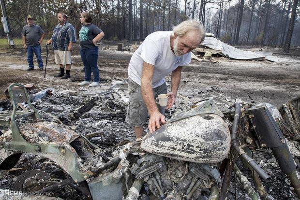 آتش سوزی در شمال کالیفرنیا