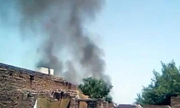 پاکستانی فوج کا سی 130 طیارہ گر کر تباہ/ دونوں پائلٹ محفوظ