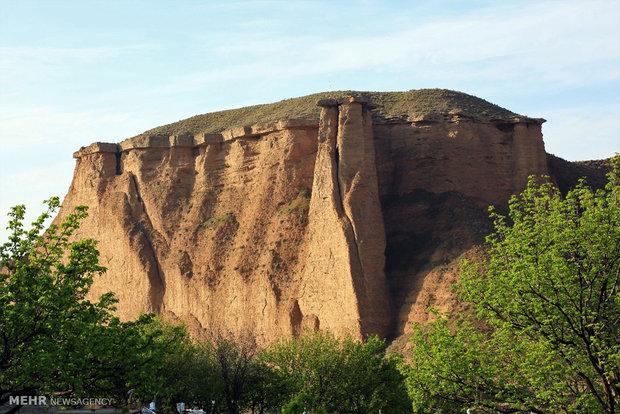 Behestan Castle in Zanjan Province