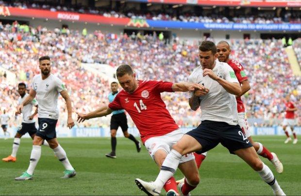 تیم ملی فوتبال دانمارک و فرانسه