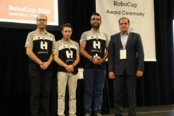 استقبال از دانشجویان برتر در مسابقات جهانی ربوکاپ ۲۰۱۸ کانادا
