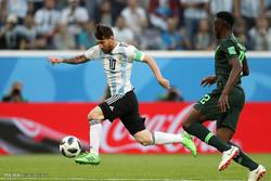ارجنٹائنا نے نائجیریا کو ایک کے مقابل 2 گول سے ہرا دیا