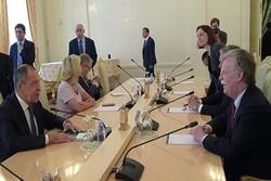 سوریه و اوکراین محور دیدار لاوروف و بولتون