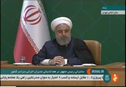 روحاني: ايران ستخرج مرفوعة الرأس من هذه الحرب التجارية الامريكية